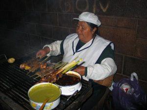 Kebob-Vender-Cuzco