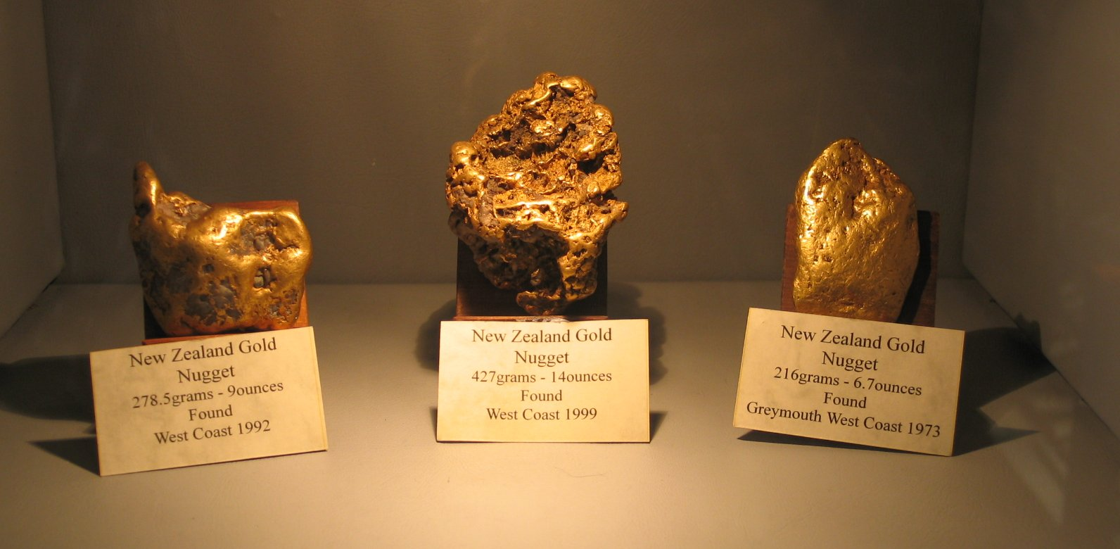 Gold-New-Zealand