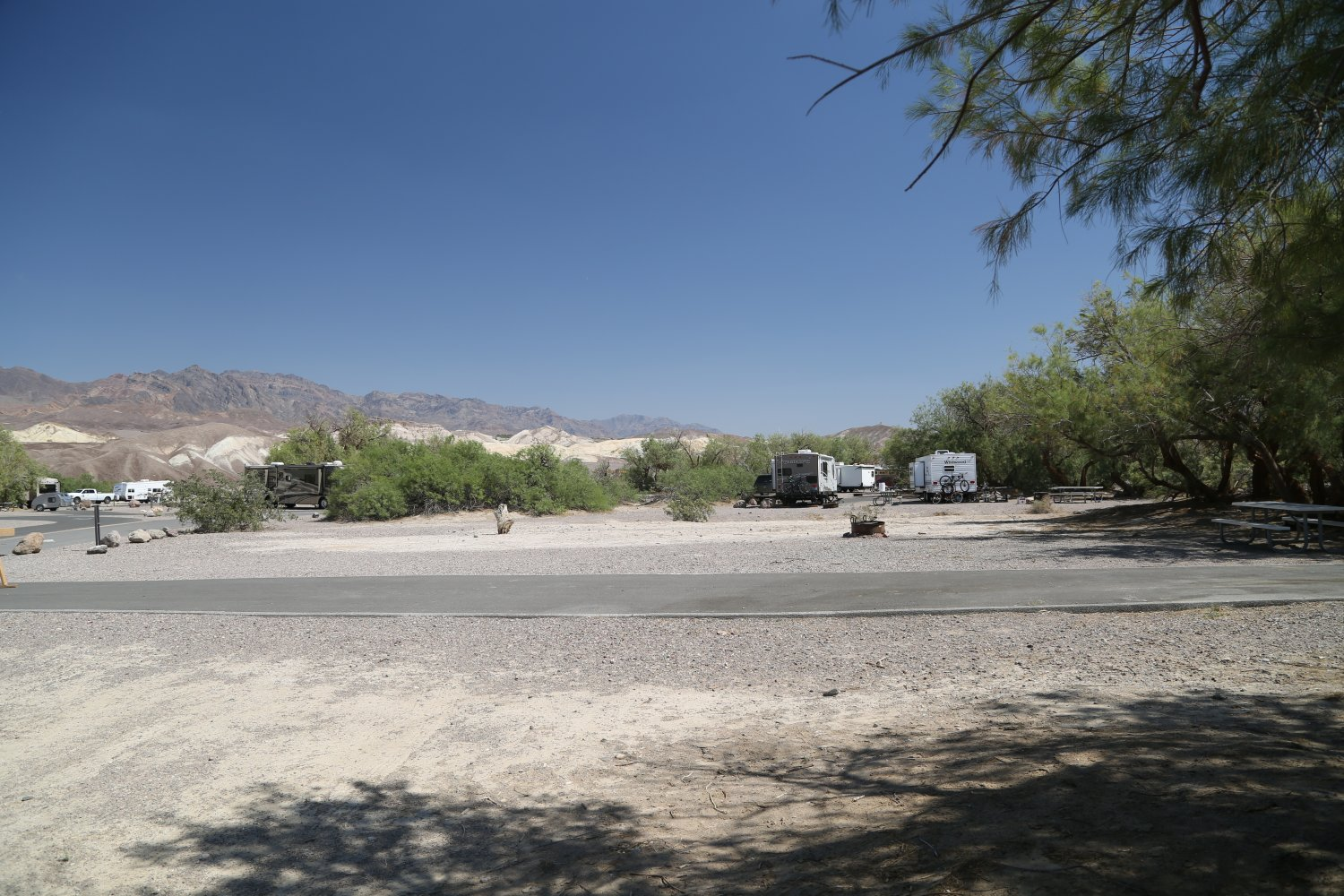 Within A Short Drive Of The Restaurants At Furnace Creek Also Located Right Next To Lowest Golf Course In World Por With Rv S And Trailers