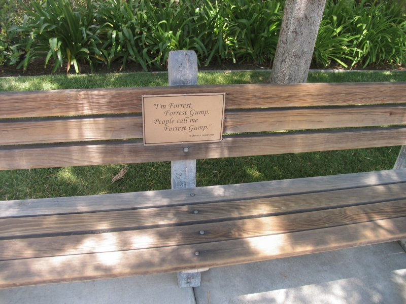 Forrest Gump Park Bench 28 Images Kenneth