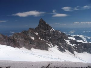 Tahoma Spire as seen from Ingraham Flats