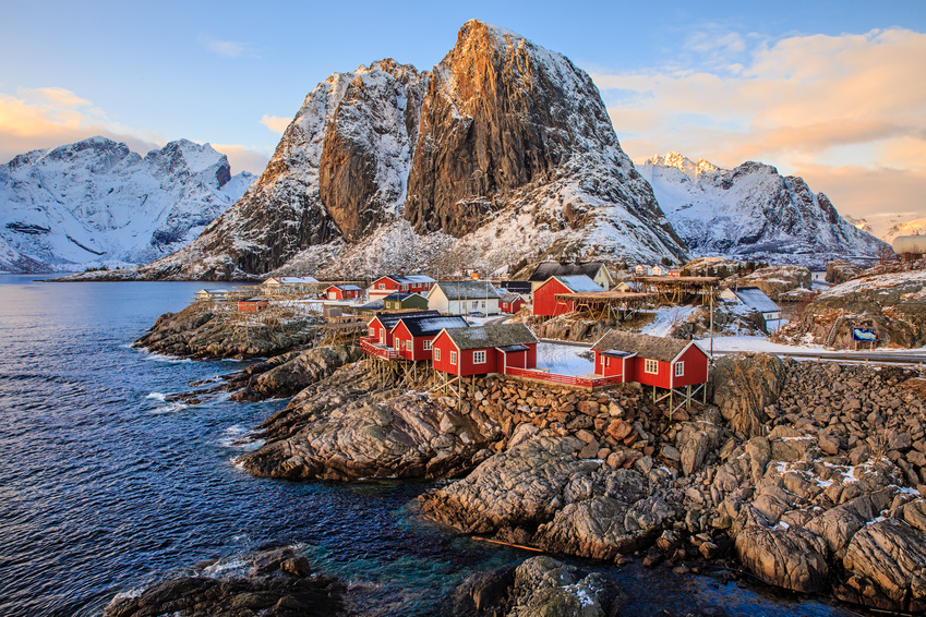 Reine fishing village, Lofoten, Norway