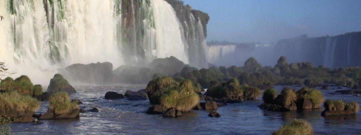 Visiting Iguazu Falls