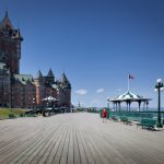Hotel in a city, Chateau Frontenac Hotel, Quebec City, Quebec, C