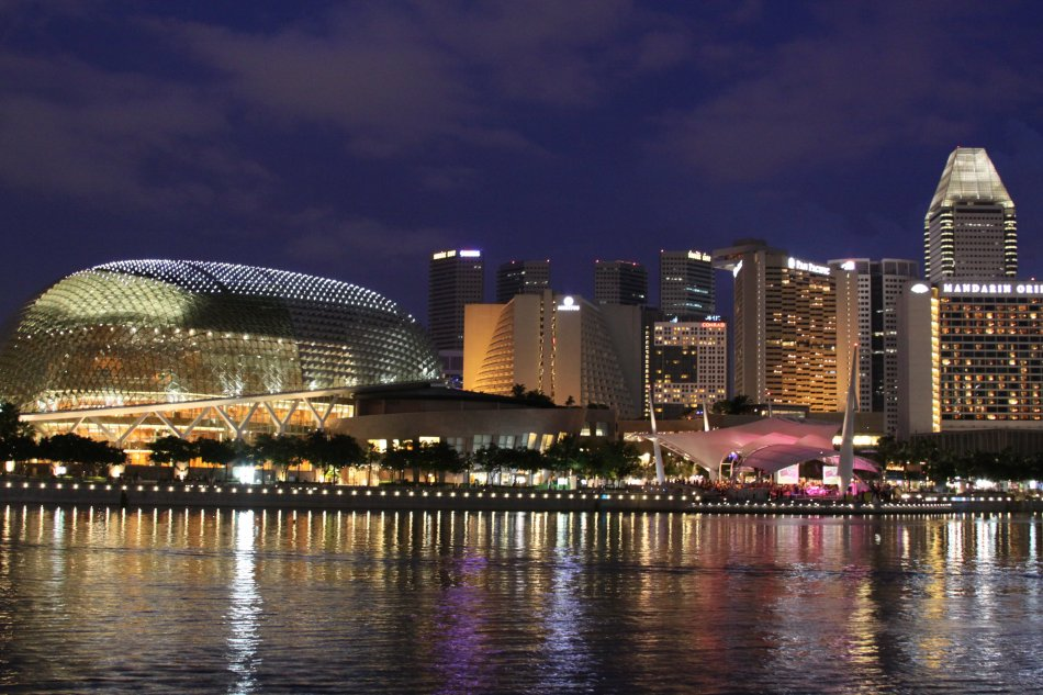 singapore-night-time