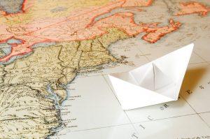 Old-Map travel addict