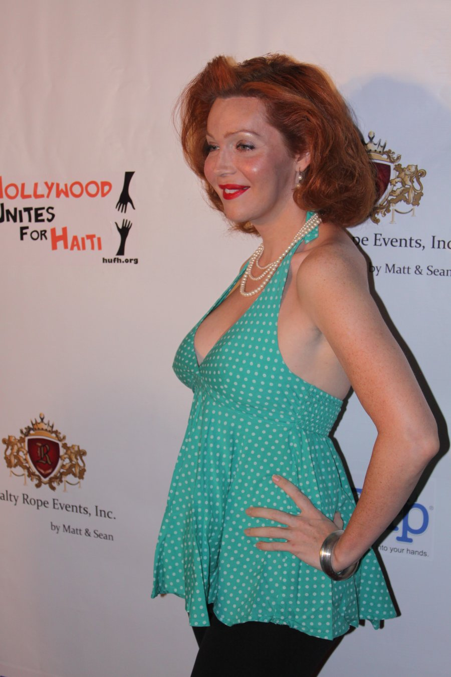 Hollywood Unites for Haiti Event