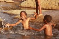 Near drowning in Lesotho