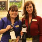 Alycia Mondavi with Leslie Bramwell-Smith