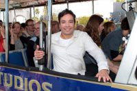 Comedian Jimmy Fallon s Hosts Universal Studios World-Famous Studio Tour