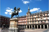 The Charming Plaza Mayor in Madrid