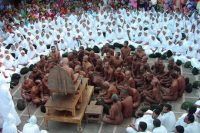 The Skyclad Jain monks in Kundalpur