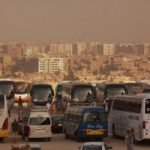 Cairo-Pyramids-Buses