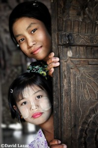 """""""Behind the Teak Door"""", by David Lazar, Myanmar"""