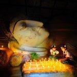 """Candlelight Buddha"", by Kyaw Kyaw Winn, Bagan, Myanmar"