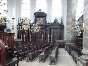 6. Portuguese synagogue in Amsterdam
