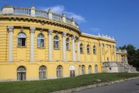 Szechenyi Baths and Pool, Budapest Hungary – May 2013