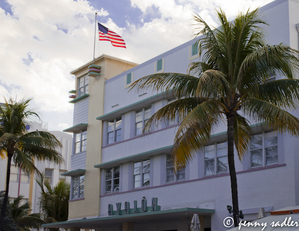 The Avalon, South Beach, Miami, Florida @PennySadler 2013