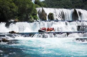 Rafting on Una_s