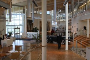 Inside Volvo headquarters