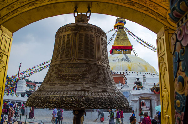 A bell at the temple