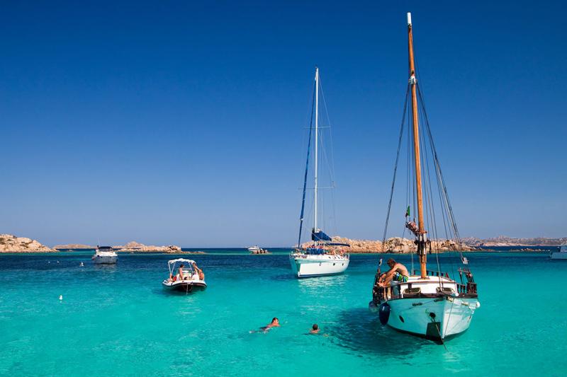 Sail Boat Experience at Arcipelago della Maddalena Sardinia