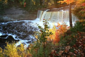 Upper Tahquamenon Water Falls