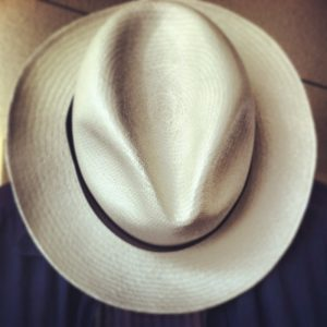 "Homero Ortega ""Panama Hat"""