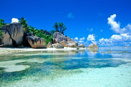 The magical waters and island landscapes of the Seychelles