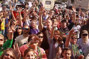Its always a blast at Mardi Gras in Biloxi!