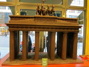 Chocolate Brandenburg Gate