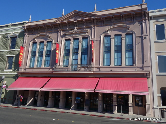 Exterior of Napa Valley Opera House, screening venue of the Napa Valley Film Festival