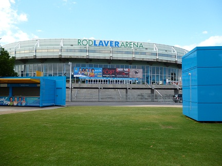The Rod Laver Arena located on Olympic Boulevard in the world sporting capital
