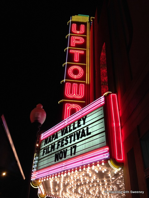 Uptown Theater in Napa presenting the Napa Valley Film Festival