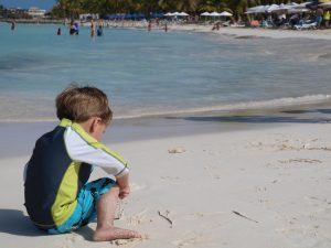 Isla Mujeres is a great family beach destination.