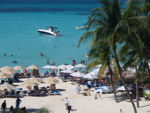 Playa Norte, the best beach on Isla Mujeres.