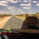 The living is easy, straw hat on the dashie, classic rock pumping and open roads