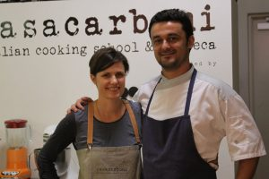 Owners, Fiona and Matteo Carboni