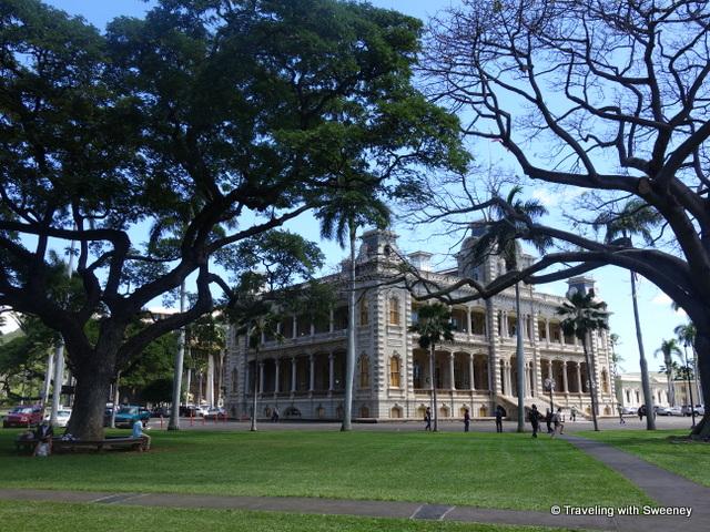 """Iolani Palace, Honolulu"""