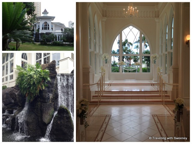"""""""Ocean Crystal Chapel at Hilton Hawaiian Village, Honolulu"""""""