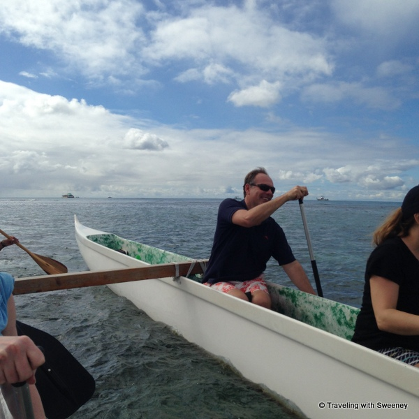 """""""Crewmates on the double-hulled canoe"""""""