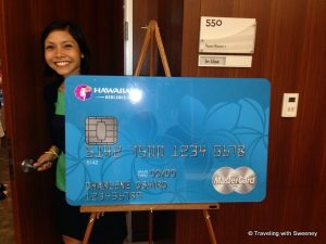 Hawaiian airline credit card