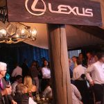 The Lexus Lounge in the grand tasting tent