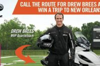 Enter to win Can-Am Spyder New Orleans Experience with NFL Quarterback Drew Brees