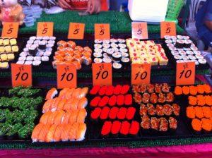 Sushi in Chiang Mai