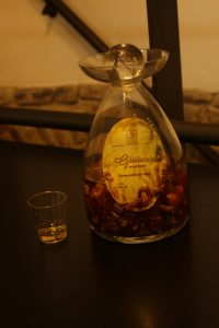 Amber Vodka in the Amber Museum
