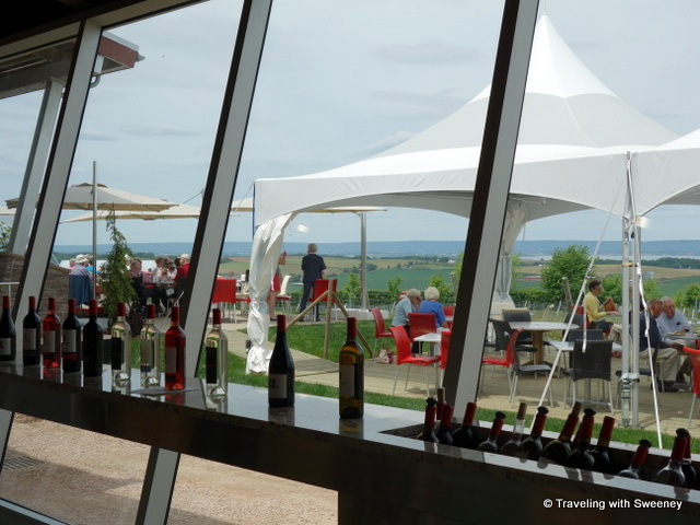 """Luckett Vineyards - tasting room and Crush Pad Bistro patio"""