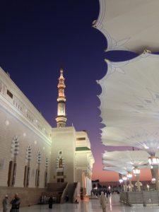 Masjid-al-Nabwi in Madinah, Saudi Arabia