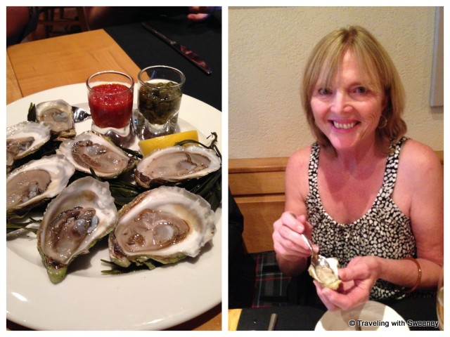"""Raw Nova Scotia oysters -- my first oyster experience"""