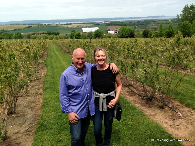 """At Luckett Vineyards with Pete Luckett"""